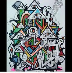 #jamesmonk #contemporaryart #abstractsurrealism #popart #abstract #rasterms