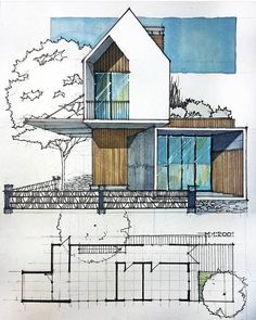 https://www.facebook.com/ArchDailySketches/photos/a.433493476784434.1073741828.180112205455897/1221700144630426/?type=3&theater