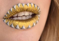 Lip art inspiration for all you crazy lipstick addicts