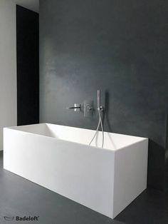 Freistehende Mineralguss Badewanne BW-06: moderne Badezimmer von Badeloft GmbH