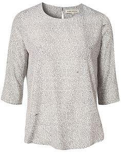Shirin Shirt - Carin Wester - Svart/hvit - Bluser & skjorter - Klær - NELLY.COM