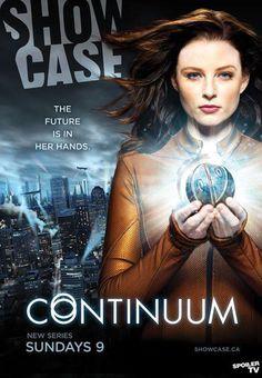 """Poster promocional de """"Continuum"""", a nova série da Showcase"""