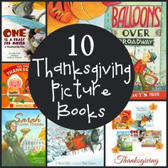 10 Thanksgiving Picture books