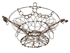 Iron Wire Basket - $175