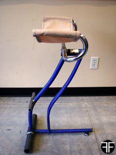 bike frame stool
