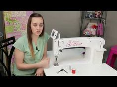 Getting Started with HQ Sweet Sixteen: Horizontal Spool Pin - YouTube