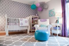 Kinderzimmer Wanddeko - marokkanische Textur selber machen