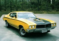 1970 Buick GSX -Top Ten Classic Muscle Cars