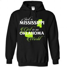 MISSISSIPPI-OKLAHOMA girl 02Lime - #chambray shirt #sweater for fall. SIMILAR ITEMS => https://www.sunfrog.com/States/MISSISSIPPI-2DOKLAHOMA-girl-02Lime-Black-Hoodie.html?68278