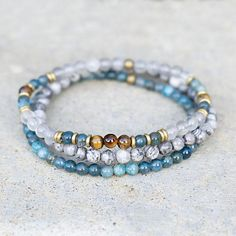 Stone Jewelry l 14k Peace Charm Emerald Ruby Lapis Gemstone Carnelian Apatite Labradorite Peaceful Bracelet Garnet