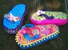 Flip-flop pillows