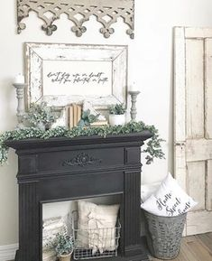 Excellent modern french decorating ideas are offered on our internet site. Take … – Farmhouse Fireplace Mantels Fireplace Decor, Farmhouse Decor, Decor, Faux Fireplace Mantels, Diy Fireplace, French Decor, Faux Fireplace, Fireplace, Cozy House