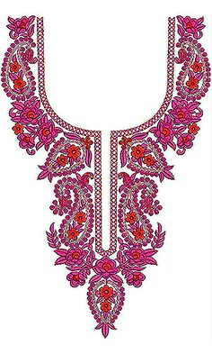 Paisley With Floral | Traditional Embroidery Design