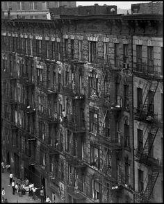 Bruce Davidson - East 100th Street, New York City 1966