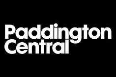 Paddington Central Logotype and Visual Identity. Designed by NextBigThing. Lettering Design, Logo Design, Type Design, Visual Identity, Brand Identity, Logo Branding, Logos, Custom Fonts, Typography