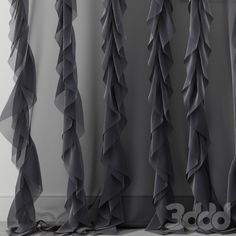 3d модели: Шторы - Curtain 24