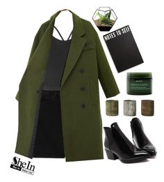 """#SheIn"" by credentovideos ❤ liked on Polyvore featuring Primitives By Kathy, Aveda, NKUKU, Monki, Motel, women's clothing, women's fashion, women, female and woman"