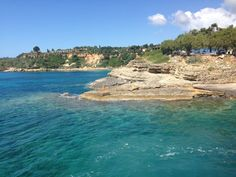 Love the colour of the sea in Cephalonia! Places To Visit, Colour, River, Sea, Spaces, Outdoor, Color, Outdoors, Rivers