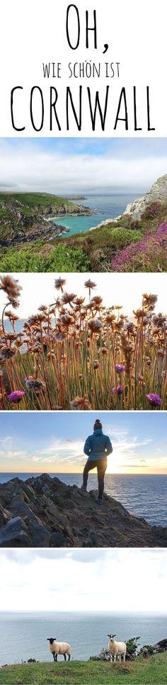 Der vielleicht schönste Fleck in ganz Großbritannien: Cornwall an der Südküste Englands ist immer eine Reise wert - auch zu Fuß, z.B. auf dem South West Coast Path: http://fraeulein-draussen.de/south-west-coast-path-wandern-tipps/