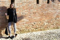 My outfit for a sunny day in Gradara