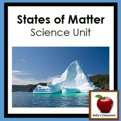 "This is a two week science unit about the states (or ""properties"") of matter. Although written for younger elementary students, the activities in the PDF can be adjusted for older students as well.  The skills and concepts in this PDF include: ~solids ~liquids ~gases ~plasma (introduction only) ~matter ~density ~mass ~atoms ~molecules ~heat, boiling, melting ~cold, freezing ~solids to liquids (and reverse) ~liquids to gases (and reverse)  #solids #liquids #gas #plasma #statesofmatter"