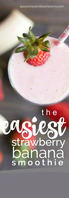 how to make the best smoothie strawberry