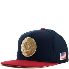 398aa004c2d Mitchell and Ness Los Angeles Clippers Snapback