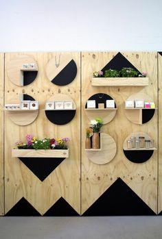 moderne holzmöbel holzregal bauen minimalistisch