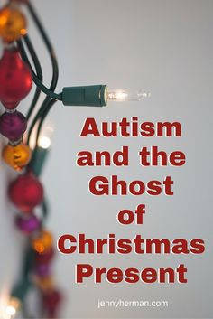 What ghost visits special needs families at the holidays? Click to find out! via jennyherman.com