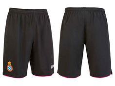 RCD Espanyol Black 2016-17 Alternate Shorts