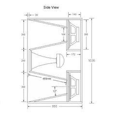 Skema Box speaker 12'' Lapangan Planar Super Jauh - BANTOEL .COM
