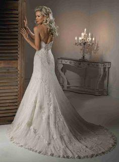 New Post strapless lace wedding dress tumblr