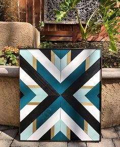 This one of a kind wooden wall art has been intricately designed and would be a … &; Wood Diy This one of a kind wooden wall art has been intricately designed and would be a … &; Wooden Wall Art, Diy Wall Art, Wooden Walls, Diy Art, Wall Wood, Wood Art Design, Diy Design, Painted Barn Quilts, Painted Wood