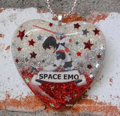 RESERVED ITEM Keith from Voltron Space Emo Resin by GlitterFusion