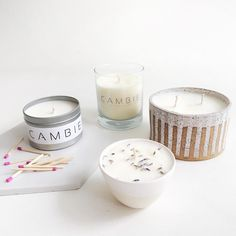 Our candles, incense sticks, and palo santo are all produced using toxin-free materials and reusable vessels. Incense Sticks, Scented Candles, House Warming, Fresh, Floral, How To Make, Gifts, Design, Palo Santo
