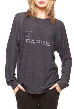 8fa1b6fd A great long sleeve sweatshirt, knit-like slouchy top. This unisex top runs