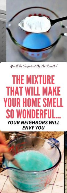 Get rid of unpleasant odors and smells in your home with this amazing fragrance you can make at home.