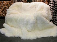 Ginormous Sheepskin Blanket!