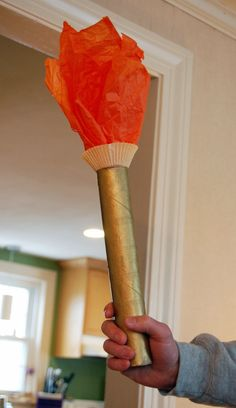 Kid Craft: Olympic Torch
