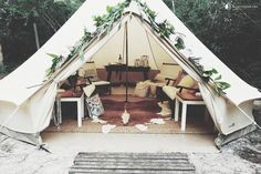 Beautifully Furnished Glamping Tent Campground near Panama City Beach