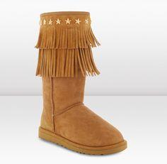 Jimmy Choo UGG® Sora Boots chestnut for Women [Jimmy Choo UGG® Sora Boots c] - $373.00 :