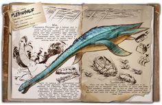 Dossier Plesiosaur #ark #gaming #gamer #survival #evolved