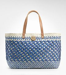 Small Straw Square Tote   via Covet du Jour