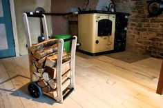 Firewood Trolley - Small