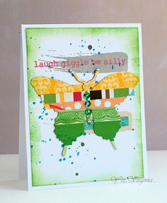 Card Made from Scraps
