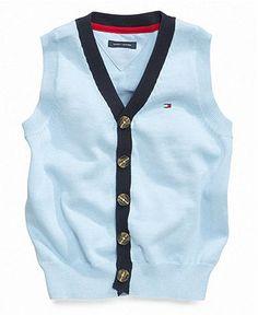 Tommy Hilfiger Kids Vest, Little Boys Darren Vest - Kids Tommy Hilfiger - Macy's