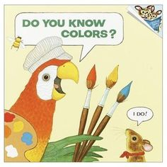 A parrot with a palette flies through this book, introducing colors and explaining how they can be mixed to form new ones.