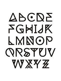 cool fonts alphabet - Buscar con Google                                                                                                                                                                                 More
