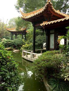 Chinese garden - Guangzhou, Guangdong