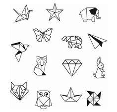Geometrische Tier Diamond Shapes Knöchel Handgelenk temporäre Tätowierung - Knöchel Tattoo - Party Tattoo to make temporary tattoo crafts ink tattoo tattoo diy tattoo stickers